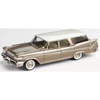 DESOTO Fireflite 4-door Station Wagon, 1959, pearl white/golden tan poly