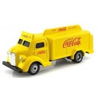 Coca-Cola Bottle Truck, yellow