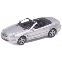 MERCEDES-BENZ 500 SL, silver