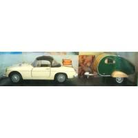 MG B Cabriolet & Caravan