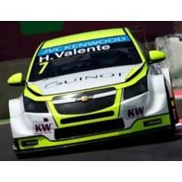 CHEVROLET RLM Cruze WTCC Marrakech'14 #7, R2 3rd H.Valente