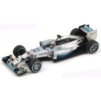 MERCEDES F1 W05 GP Italy'14 #44, winner L.Hamilton