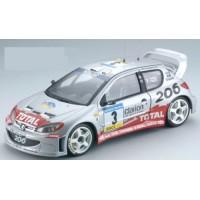 PEUGEOT 206 WRC Catalunya'02 #3, winner Panizzi