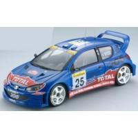 PEUGEOT 206 WRC Rally MonteCarlo'02 #25, Rovanpera