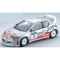 PEUGEOT 206 WRC Rally Great Britain'02 #1, Burns