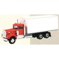 KENWORTH W900 Box trailer