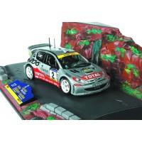PEUGEOT 206 WRC Catalogne'01 #2