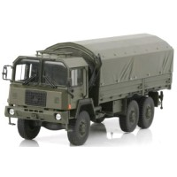 SAURER 10DM 6x6 Swiss Army, 1982, closed