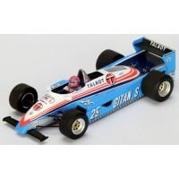 LIGIER JS19 GP LasVegas'82 #25, 3rd E.Cheever