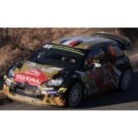 CITROËN DS3 WRC Rally MonteCarlo'15 #18, 47th S.Chardonnet / T.DeLaHaye