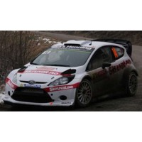 FORD Fiesta WRC Rally MonteCarlo'15 #14, 11th H.Solberg / I.Minor