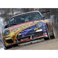 PORSCHE 911 RGT Rally MonteCarlo'15 #20, winner F.Delecour / D.Savignoni