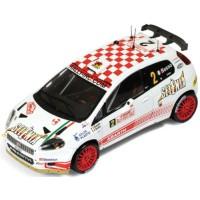 FIAT Abarth Grande Punto S2000 Rally MonteCarlo'09 #2, 5th G.Basso / M.Dotta
