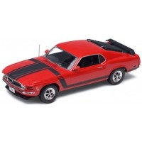FORD Mustang BOSS 302, 1970, red