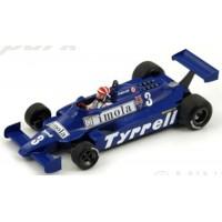TYRRELL 010 GP Monaco'81 #3, 5th E.Cheever