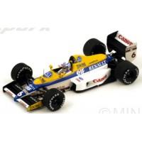 WILLIAMS FW12C GP US'90 #6, 2nd R.Patrese