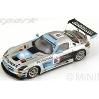 MERCEDES-BENZ SLS AMG GT3 HTP 24h Spa'14 #86, 5th Buhk / Götz / Jaafar