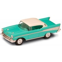 CHEVROLET Bel Air, 1957, turquoise