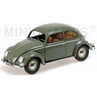 VW 1200, 1949, green