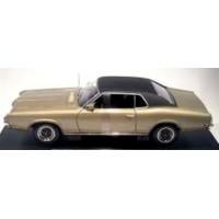 MERCURY Cougar XR7, 1970, gold