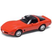 CHEVROLET Corvette Coupé, 1982, red