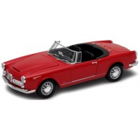 ALFA ROMEO Spider 2600 open, 1960, red
