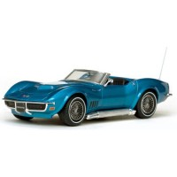 CHEVROLET Corvette Cabrio open, 1968, le mans blue