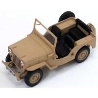 WILLYS Jeep CJ-3B, 1953, sand