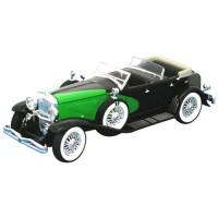 DUESENBERG 1934 noir/vert