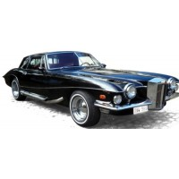 STUTZ Blackhawk Coupé, 1971, black