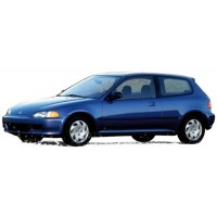 HONDA Civic EG6, 1992, met.blue