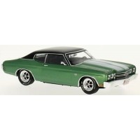 CHEVROLET Chevelle SS, 1970, green/white