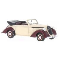 STEYR 220 Cabriolet, 1939, beige/d.red