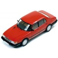 SAAB 900i, 1987, red