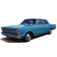 FORD Galaxie, 1966, l.blue