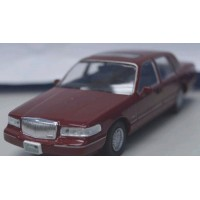 LINCOLN Town Car, 1996, met.red