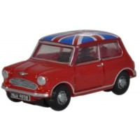AUSTIN Mini, red/union jack