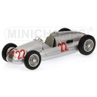 AUTO UNION Typ D GP Italy'38 #22, winner T.Nuvolari