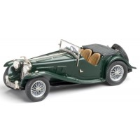 AC 16/80 Sports Roadster, 1938, green