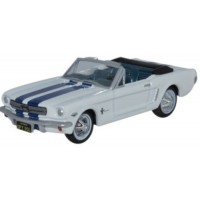FORD Mustang Convertible, 1965, wimbledon white/guardsman blue