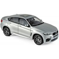 BMW X6 M, 2016, silver (limited)