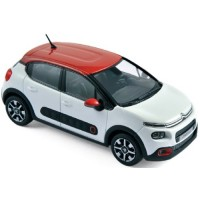 CITROËN C3, 2016, banquise white/aden red