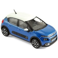 CITROËN C3, 2016, cobalt blue/white roof