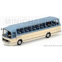 MERCEDES-BENZ O 302 Bus, 1965, blue/cream