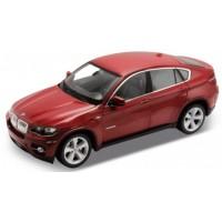 BMW X6, 2009, red