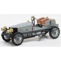 SPYKER 60 HP 4WD Racing Car, 1903, grey