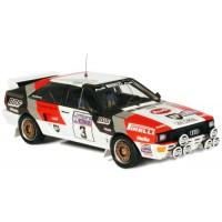 AUDI Quattro RAC'83 #3, winner Blomqvist / Cederberg