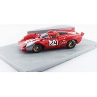 DIORAMA FERRARI 312 Coupé Daytona'70 #24, Parkes / Posey