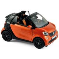 SMART Fortwo Cabrio, 2015, orange/black