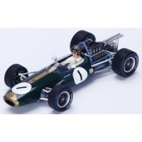 BRABHAM BT19 GP Netherlands'67 #1, 2nd J.Brabham